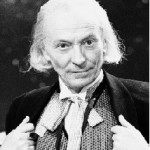 William Hartnell no seu papel de Primeiro Doutor