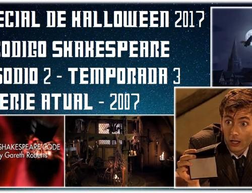 Especial de Halloween 2017 – O Código Shakespeare